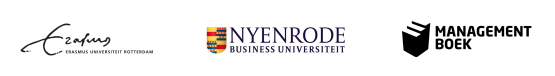 Partners van TeamTalk: Erasmus Universiteit Rotterdam, Nyenrode Business Universiteit en Management boek